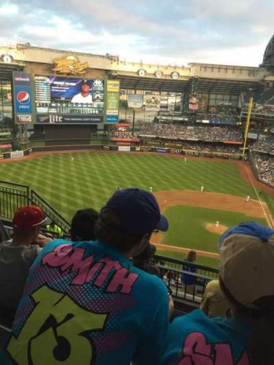 Miller Park, section: 428, row: 12, seat: 11