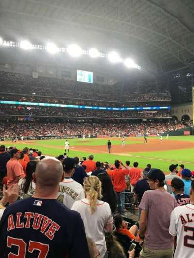 Minute Maid Park, section: 129, row: 14, seat: 7