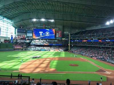 Minute Maid Park, section: 213, row: 5, seat: 4