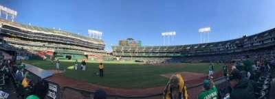 Oakland Coliseum section 127
