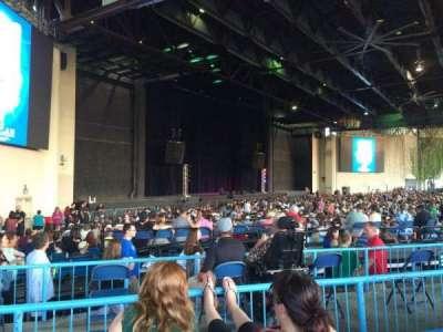 Starplex Pavilion, section: 102, row: I, seat: 13