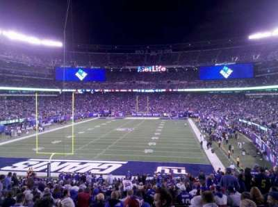 MetLife Stadium section 124