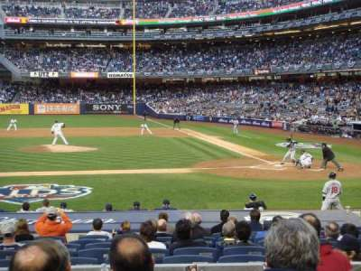 Yankee Stadium section 123
