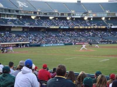 Oakland Alameda Coliseum section 110
