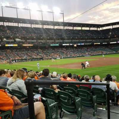 Oriole Park at Camden Yards, section: 12, row: 11, seat: 24