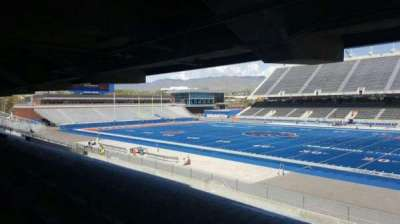 Albertsons Stadium, section: 6, row: U, seat: 2