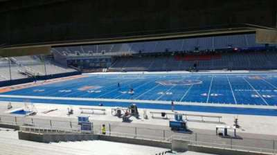 Albertsons Stadium, section: 22, row: W, seat: 22