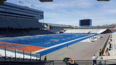 Albertsons Stadium, section: 29, row: S, seat: 10