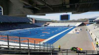 Albertsons Stadium, section: 29, row: V, seat: 7