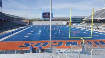 Albertsons Stadium, section: 34, row: S, seat: 1