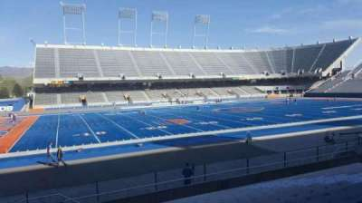 Albertsons Stadium, section: 10, row: N, seat: 33