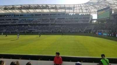 Banc of California Stadium, section: 109, row: E, seat: 24