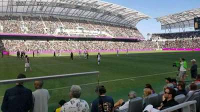 Banc of California Stadium, section: 135, row: 10 , seat: A