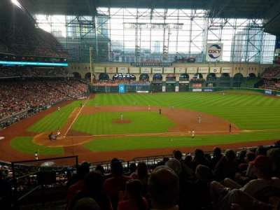 Minute Maid Park, section: 224, row: 7, seat: 1