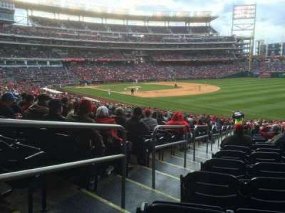 Nationals Park, section: 134, row: MM, seat: 28