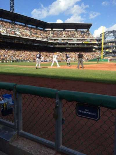 PNC Park, section: 8, row: B, seat: 12