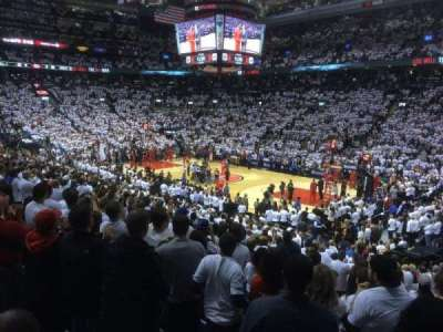 Air Canada Centre, section: 106, row: 21, seat: 1