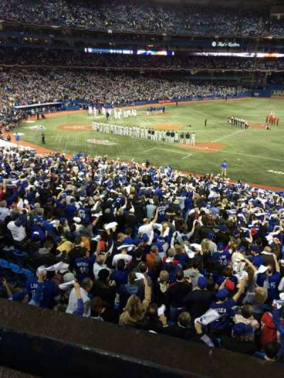 Rogers Centre, section: 216L, row: 1, seat: 101