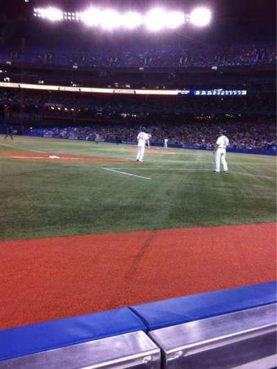 Rogers Centre, section: 128R, row: AA, seat: 7
