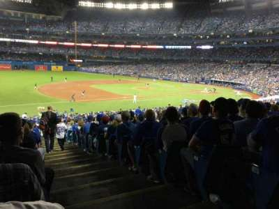 Rogers Centre, section: 129L, row: 40, seat: 1