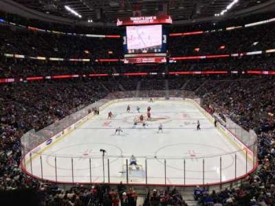 Canadian Tire Centre, section: 215, row: B, seat: 6