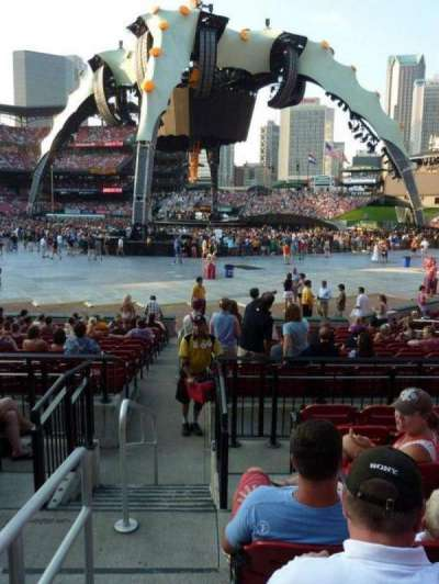 Busch Stadium, section: 135C, row: 5, seat: 1-2