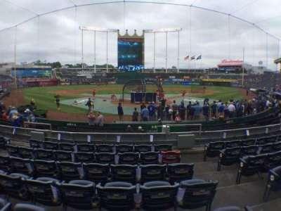 Kauffman Stadium, section: 127, row: G, seat: 8