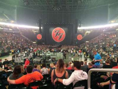 Sprint Center, section: 122, row: 11, seat: 1