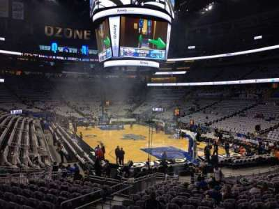 Amway Center, section: 111, row: 18, seat: 17