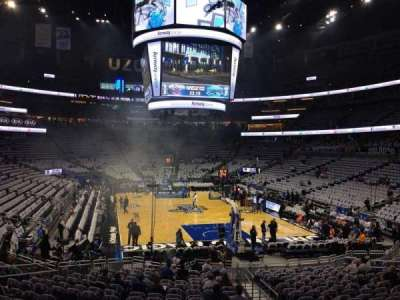 Amway Center, section: 111, row: 18, seat: 4