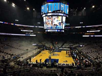 Amway Center, section: 110, row: 21, seat: 6