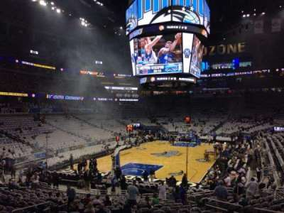 Amway Center, section: 109, row: 18, seat: 12