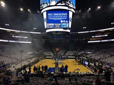Amway Center, section: 110, row: 12, seat: 18