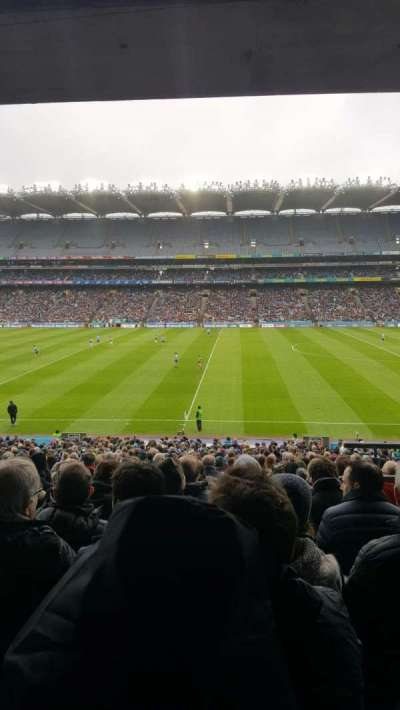 Croke Park, section: 329, row: RR, seat: 29