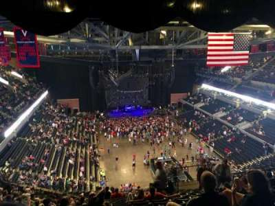 John Paul Jones Arena, section: 309, row: W, seat: 7