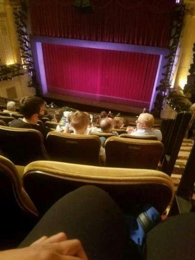 Samuel J. Friedman Theatre, section: Mezz, row: F, seat: 121