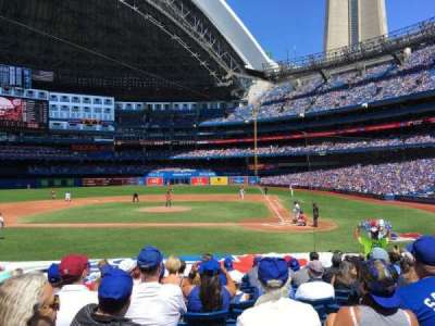 Rogers Centre, section: 125R, row: 18, seat: 9