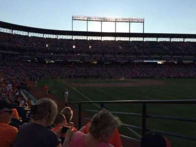 Oriole Park At Camden Yards, section: 6, row: 14, seat: 4