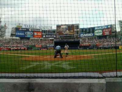 Yankee Stadium, section: 020, row: 2, seat: 3