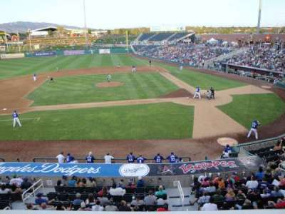 Isotopes Park, section: Club 311, row: A, seat: 7