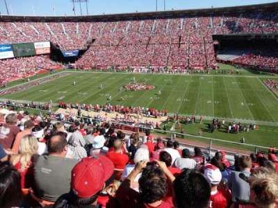 Candlestick Park section UR18