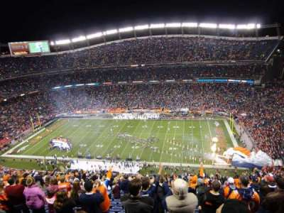 Sports Authority Field at Mile High, section: 505, row: 32, seat: 14