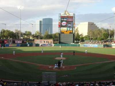 Raley Field, section: 112, row: 25, seat: 7
