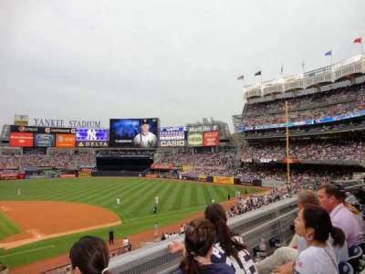 Yankee Stadium section 216