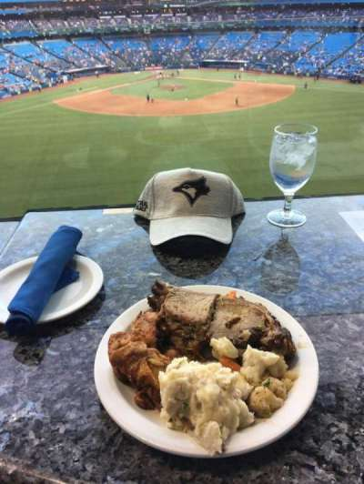 Rogers Centre, section: Sightlines Restaurant, row: A, seat: 38