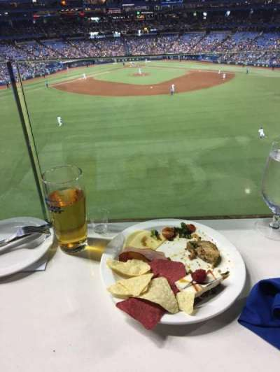 Rogers Centre, section: Sightlines Restaurant, row: A, seat: 42