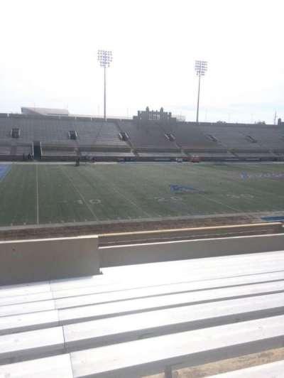 H. A. Chapman Stadium, section: 121, row: 11, seat: 11