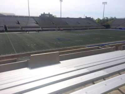 H. A. Chapman Stadium, section: 120, row: 10, seat: 22