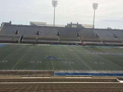 H. A. Chapman Stadium, section: 119, row: 15, seat: 22