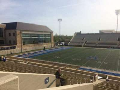 H. A. Chapman Stadium, section: 119, row: 12, seat: 23